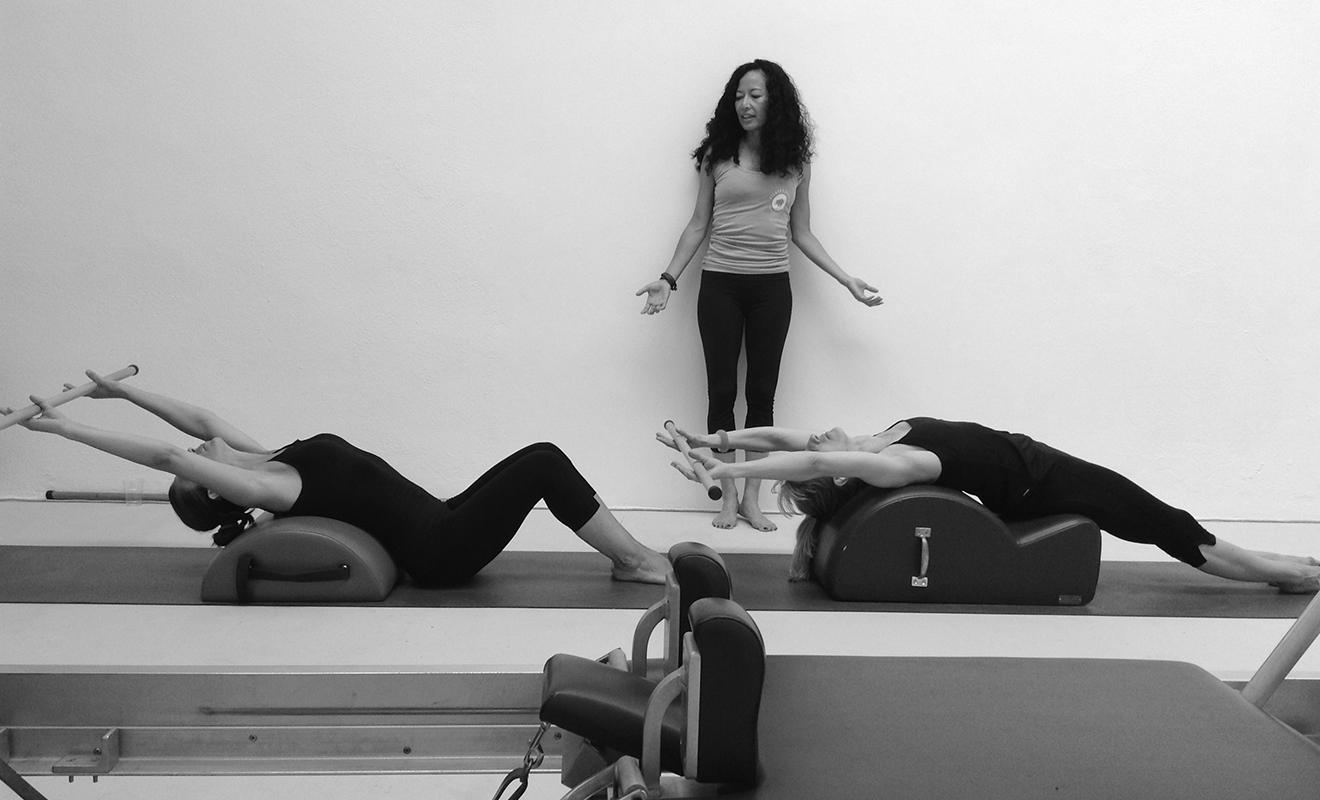 Duet lezione Pilates Roma Gaia