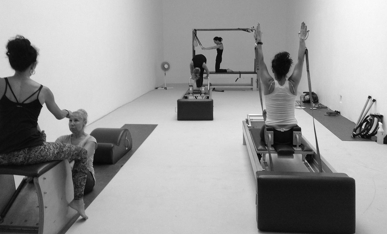 lezione individuale Pilates Macchine