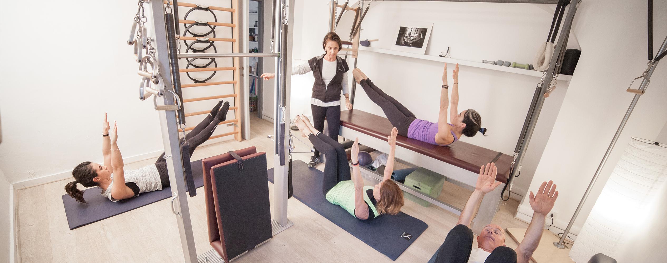 Lezione Pilates Classico Gaia Faggiani